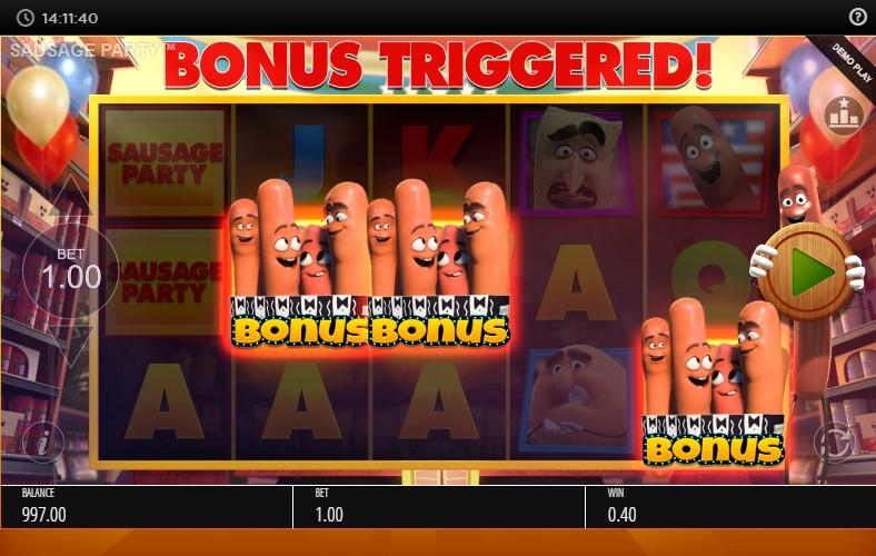 Игровой автомат Sausage Party