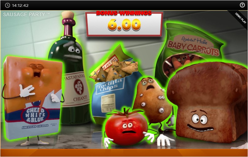 Онлайн слот Sausage Party