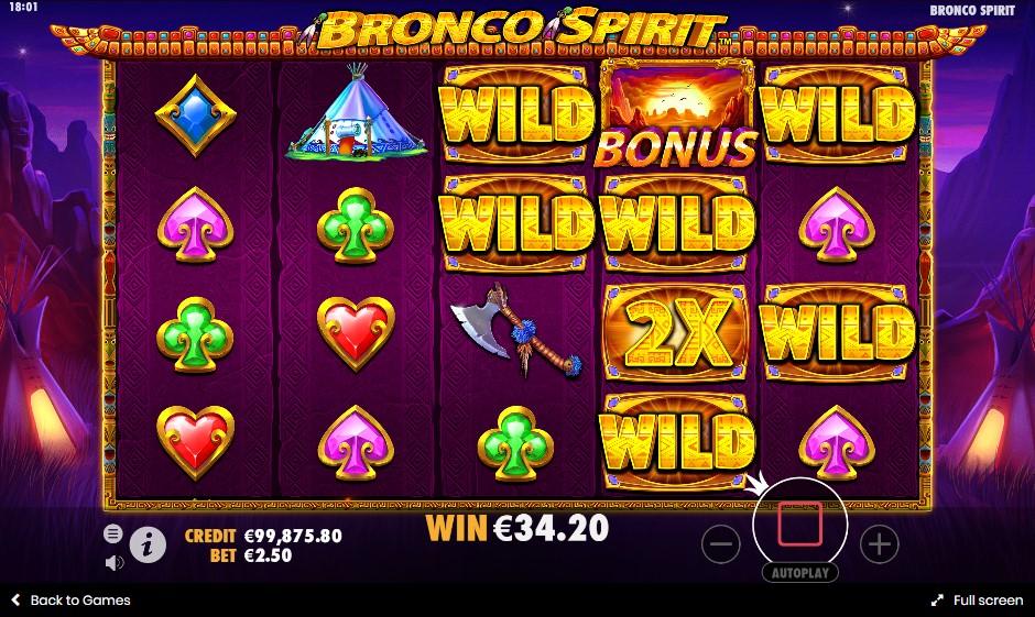 Игровой автомат Bronco Spirit