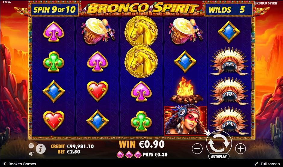 Bronco Spirit игровой автомат