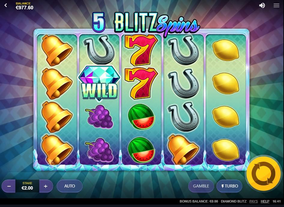Слот Diamond Blitz играть