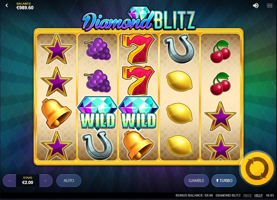 Игровой автомат Diamond Blitz