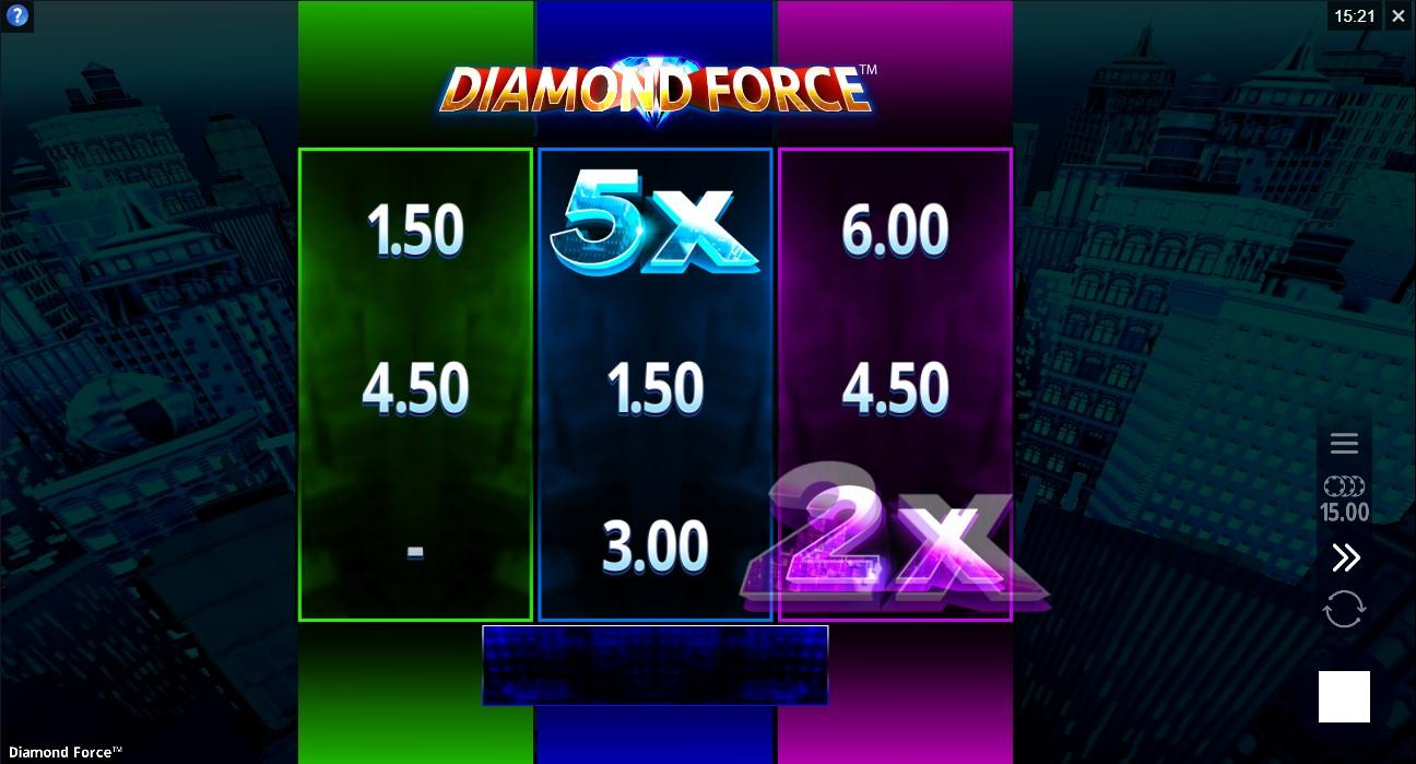 Слот Diamond Force играть бесплатно