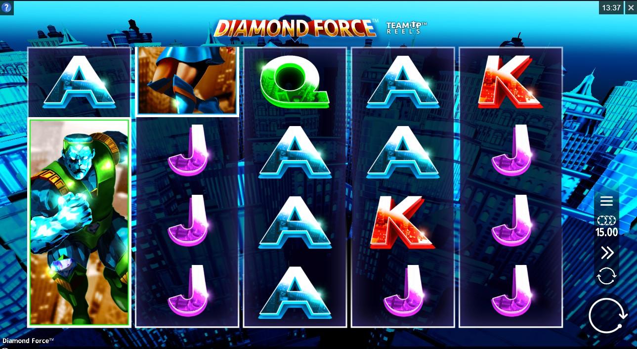Бесплатный слот Diamond Force