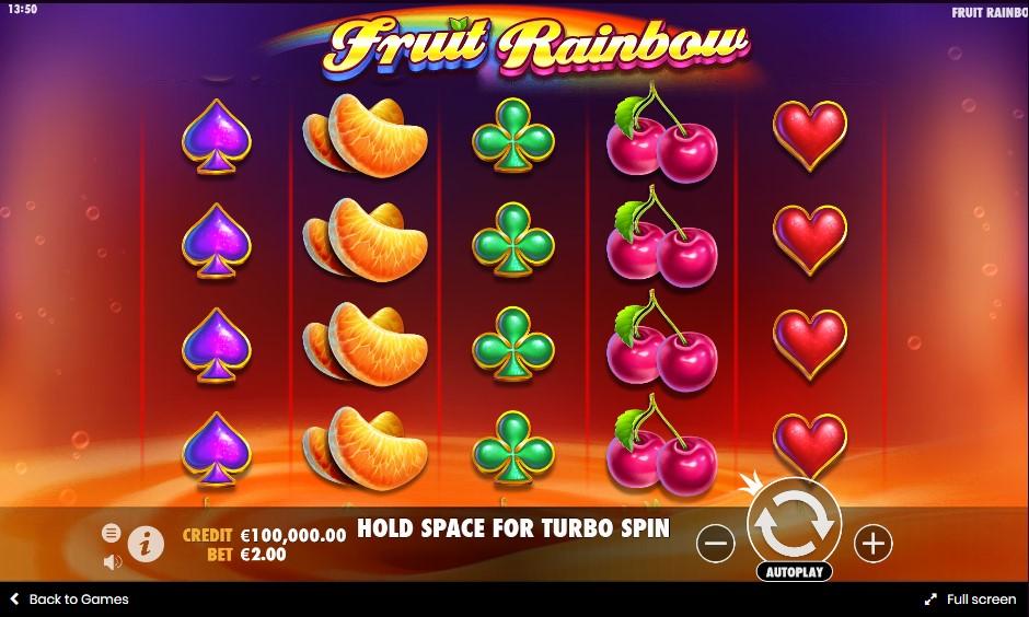 Слот Fruit Rainbow играть