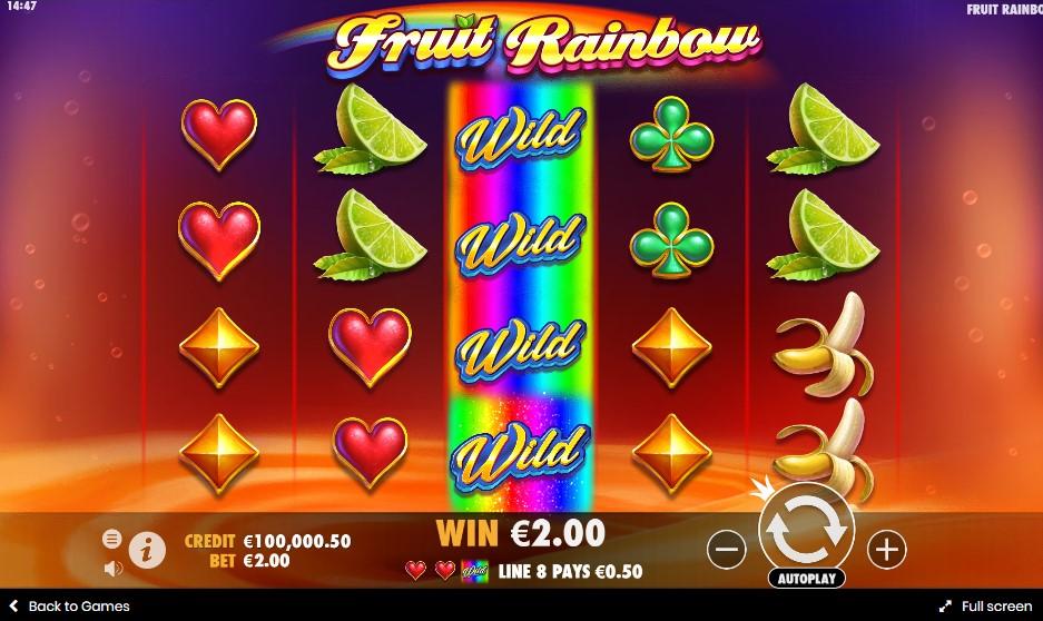 Игровой автомат Fruit Rainbow