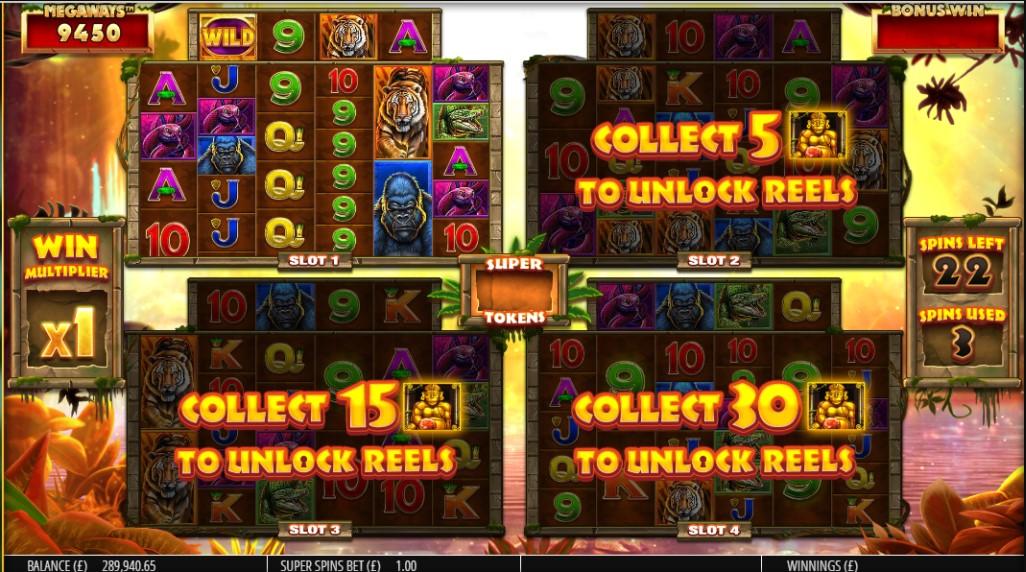 Игровой автомат Gorilla Gold Megaways