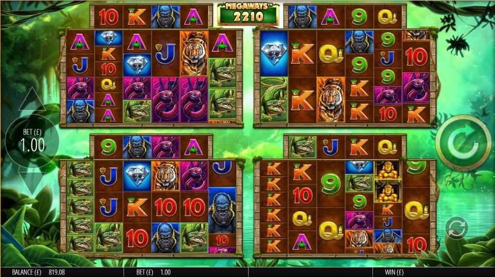 Gorilla Gold Megaways игровой автомат
