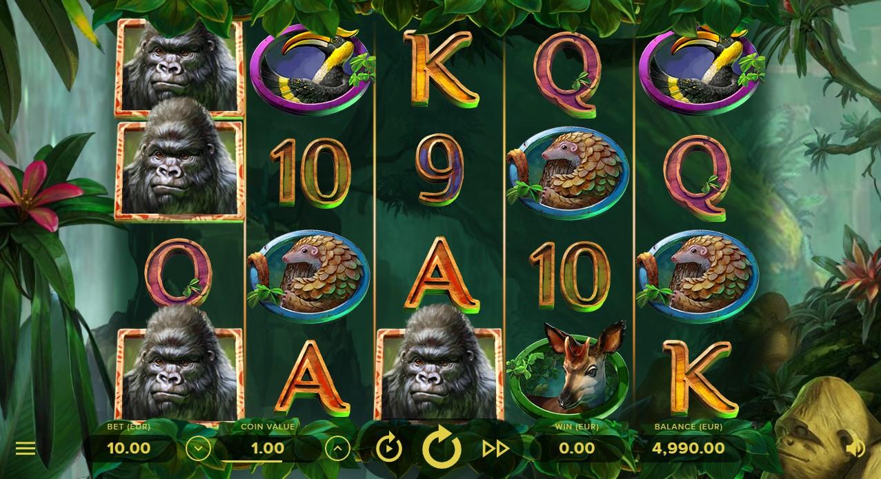 Бесплатный слот Gorilla Kingdom