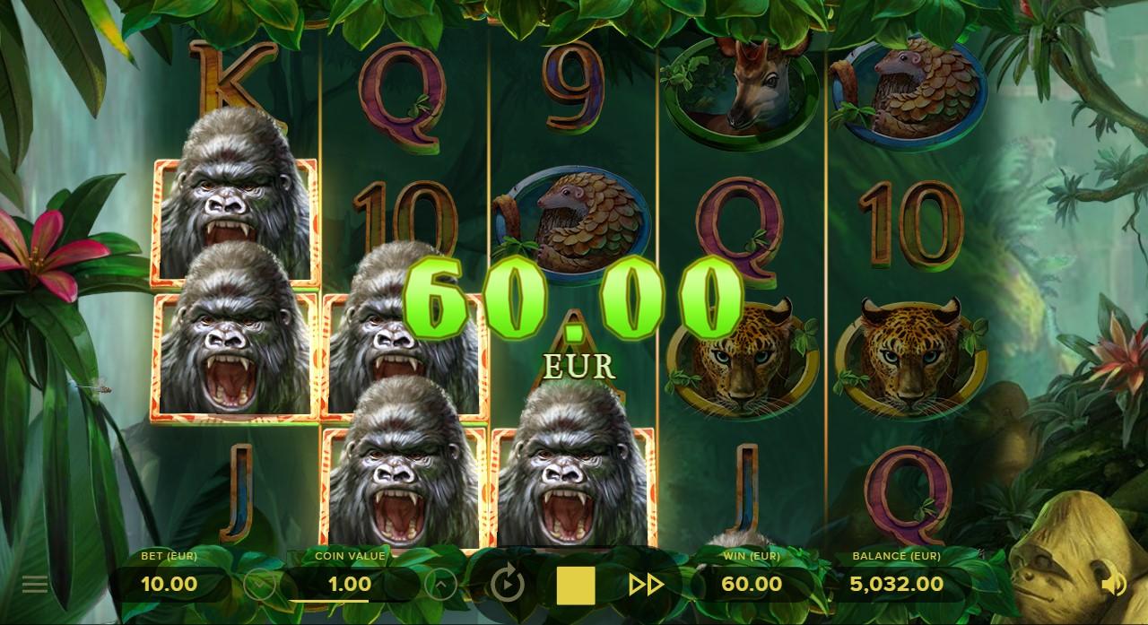 Слот Gorilla Kingdom играть