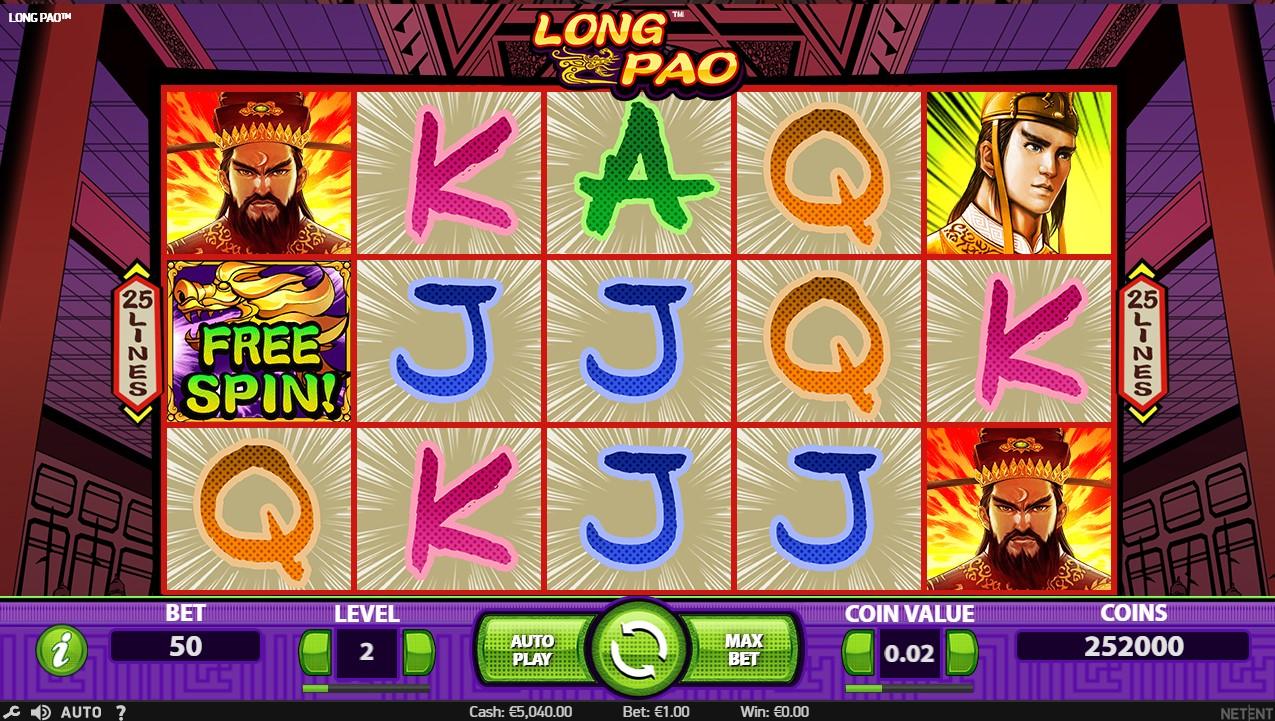 Слот Long Pao играть бесплатно