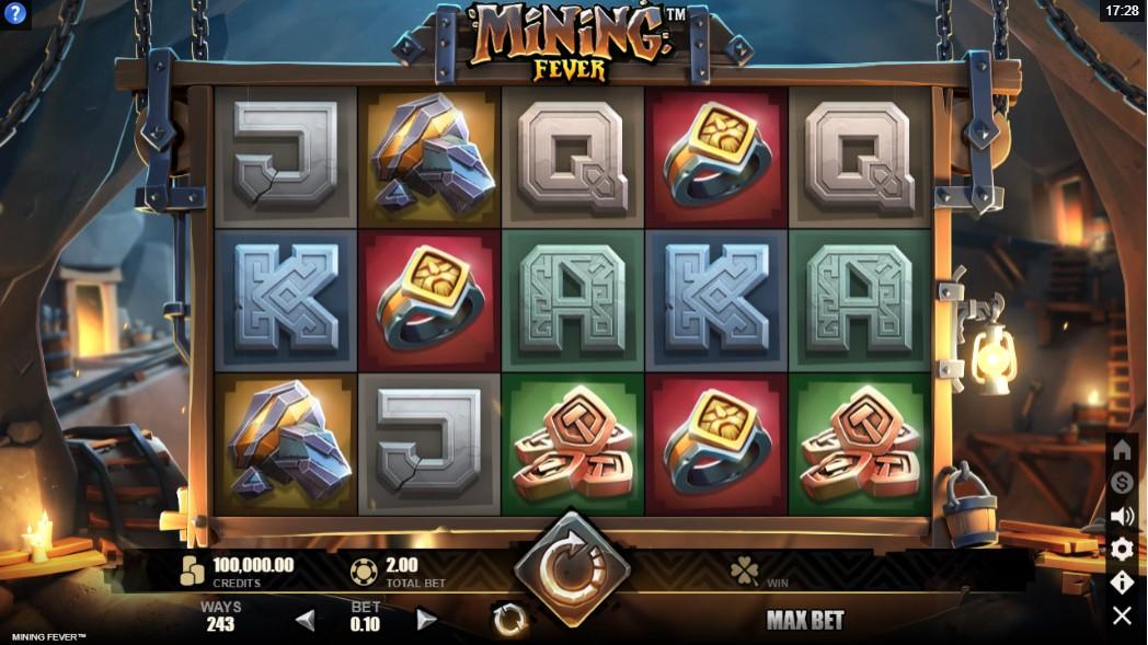 Слот Mining Fever играть онлайн