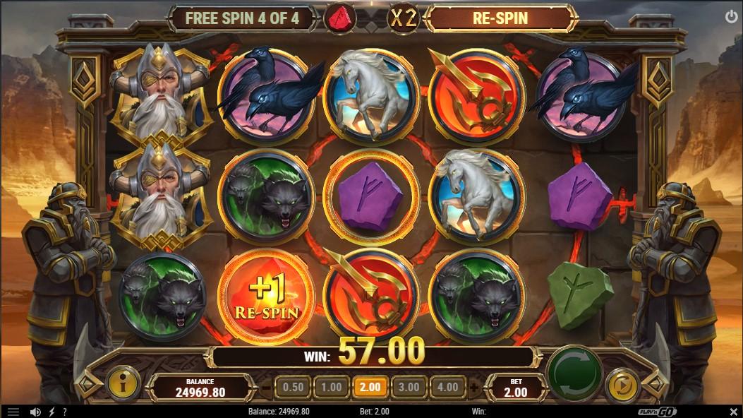 Игровой автомат Ring of Odin