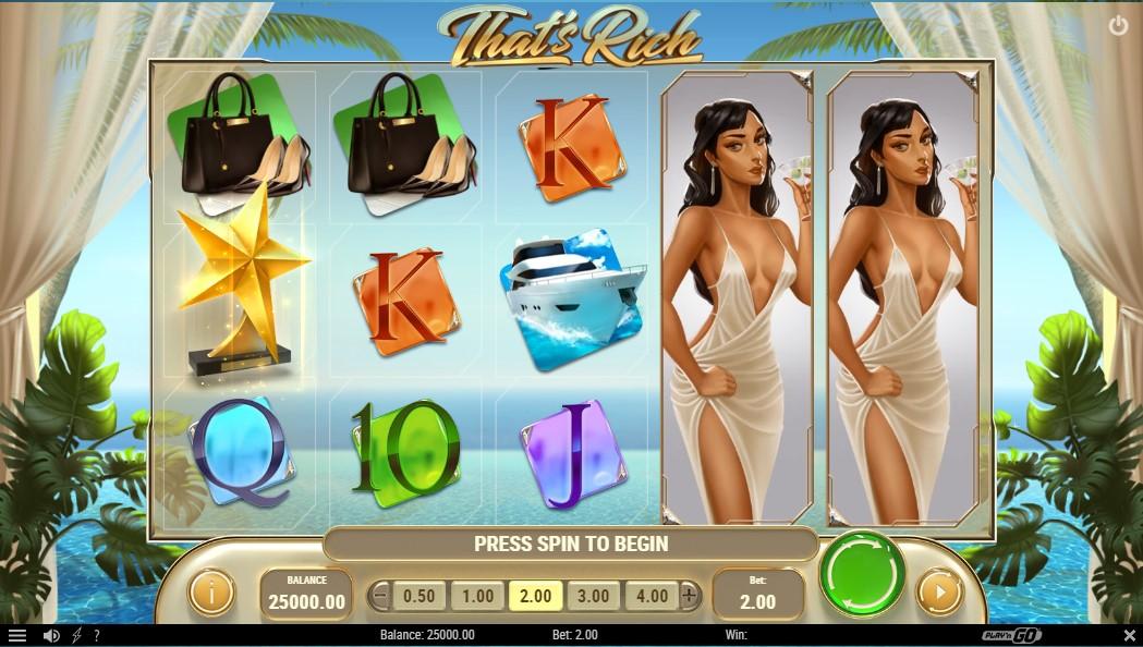 Онлайн слот That's Rich играть