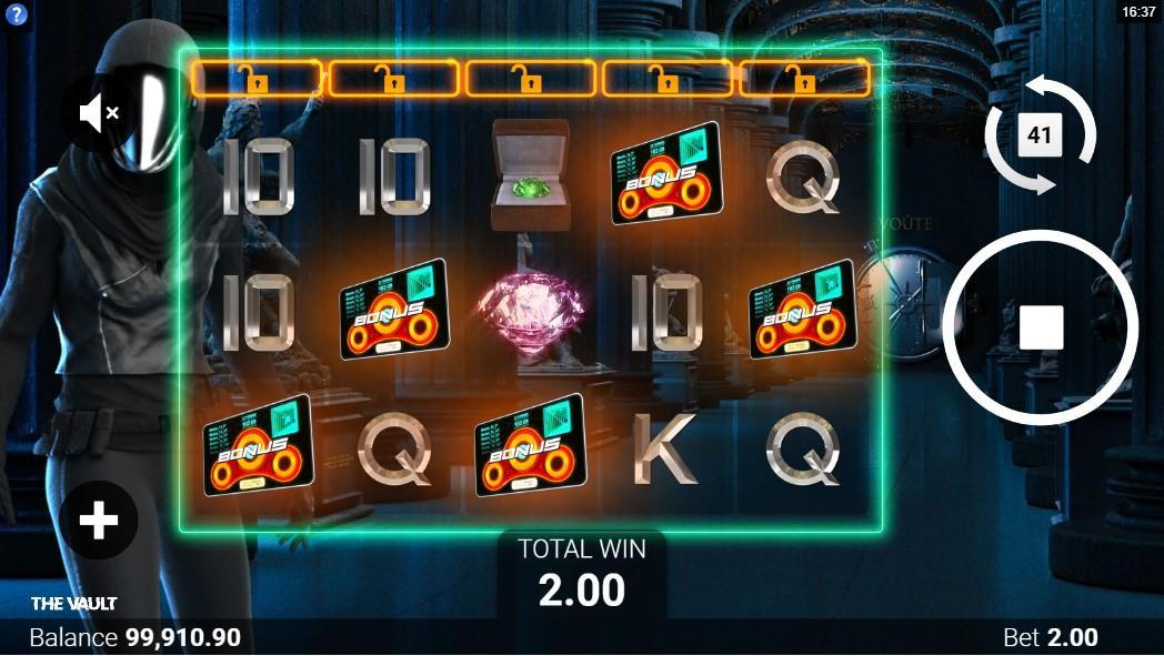 The Vault игровой автомат