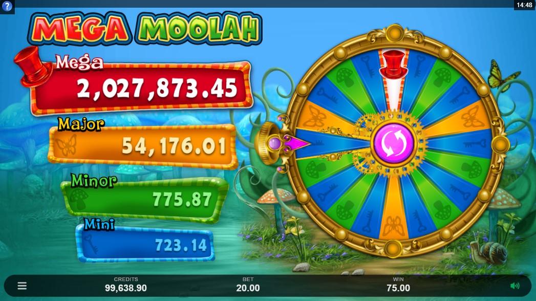 Играть бесплатно Absolootly Mad Mega Moolah