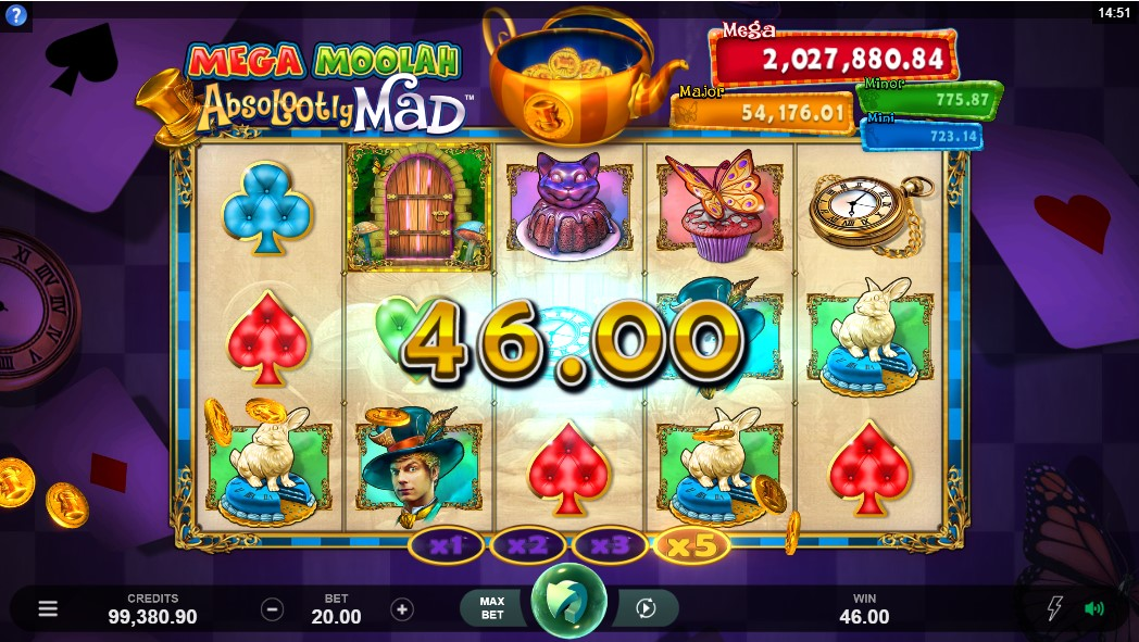 Онлайн слот Absolootly Mad Mega Moolah