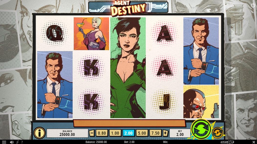 Слот Agent Destiny играть бесплатно