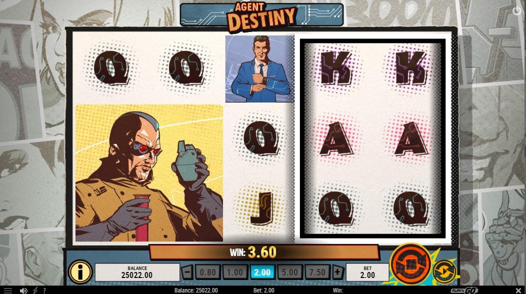 Agent Destiny игровой автомат