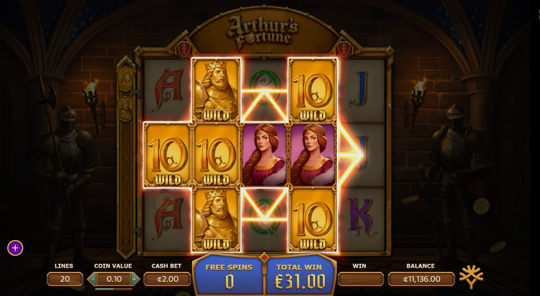 Игровой автомат Arthur's Fortune