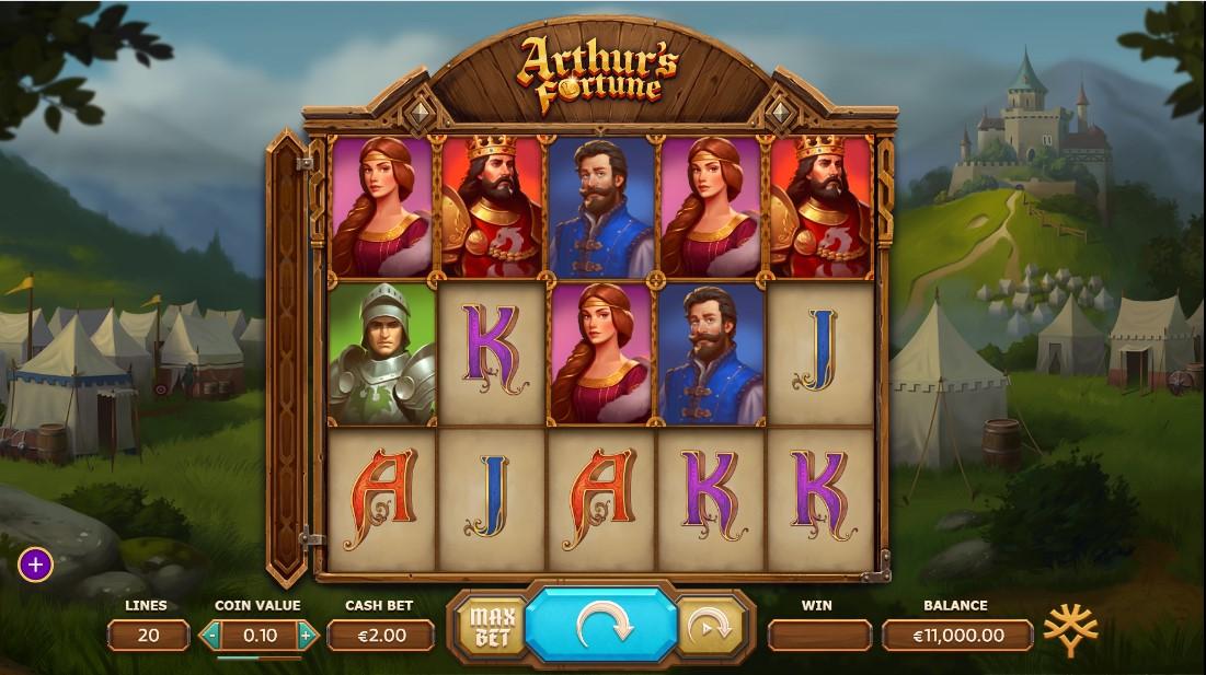 Бесплатный слот Arthur's Fortune