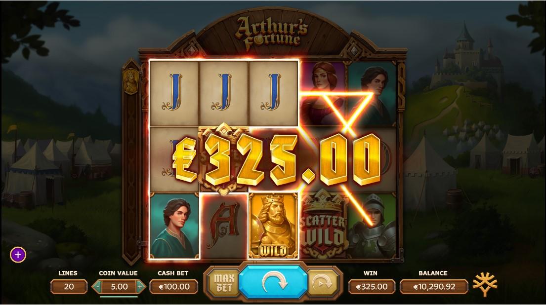 Arthur's Fortune игровой автомат