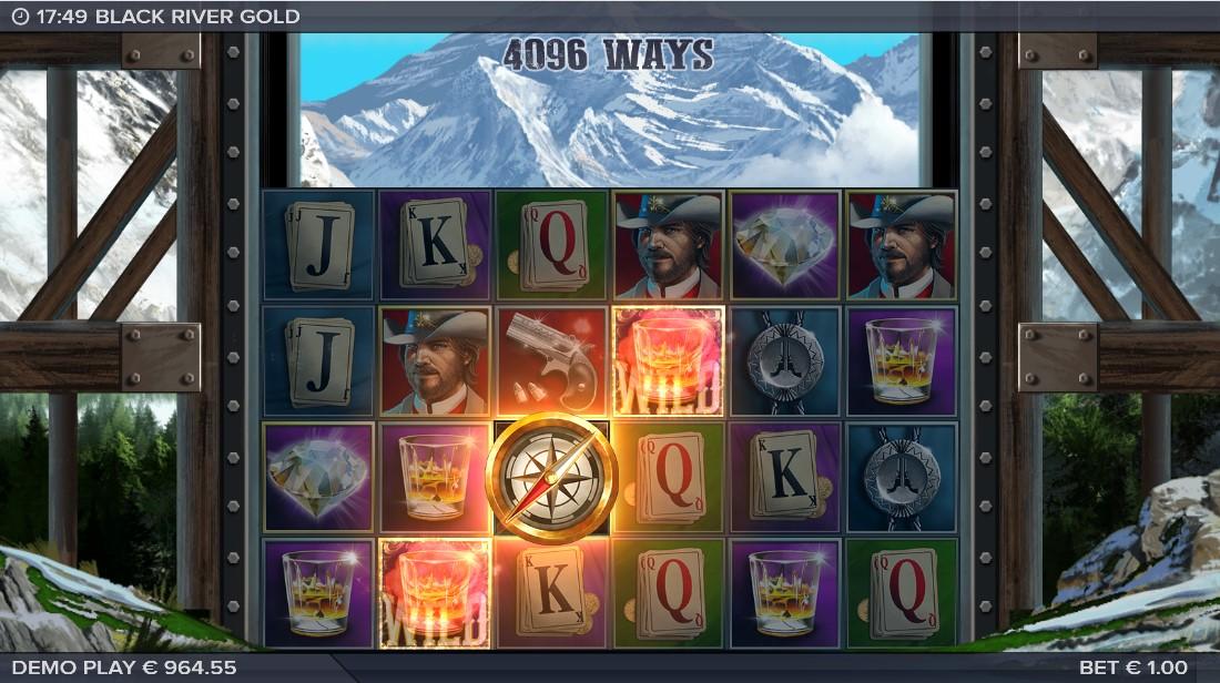 Игровой автомат Black River Gold