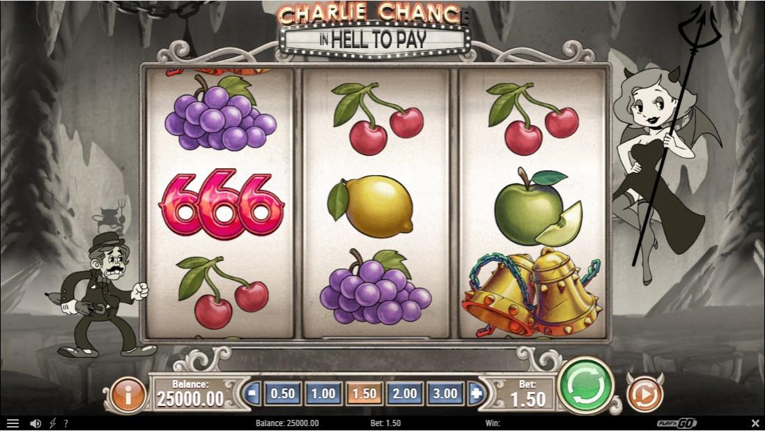 Бесплатный игровой автмоат Charlie Chance In Hell To Pay