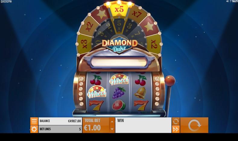 Онлайн слот Diamond Duke