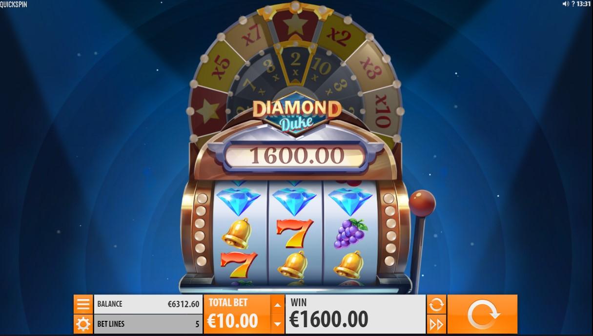 Игровой автомат Diamond Duke