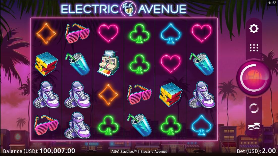 Слот Electric Avenue играть бесплатно
