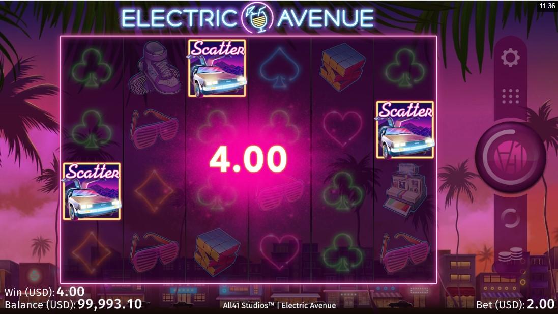 Бесплатный слот Electric Avenue