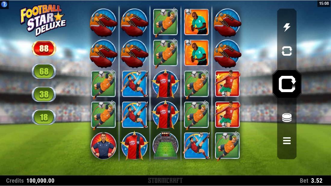 Football Star Deluxe игровой автомат