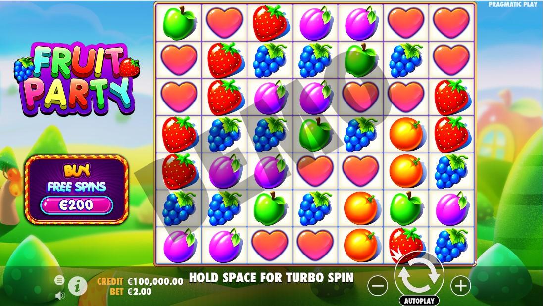 Fruit Party игровой автомат