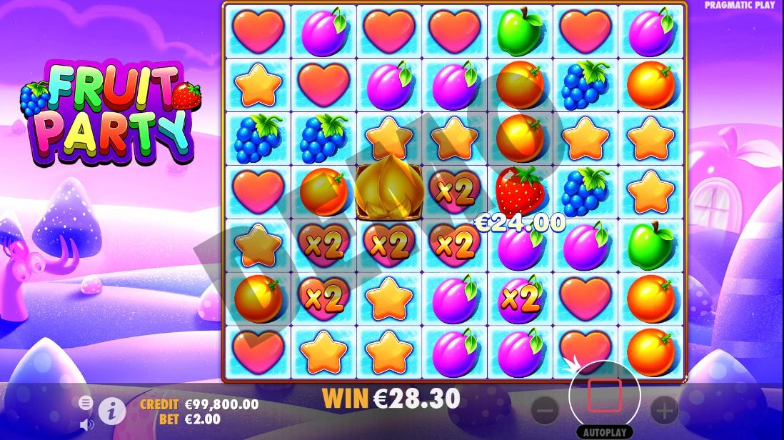 Игровой автомат Fruit Party