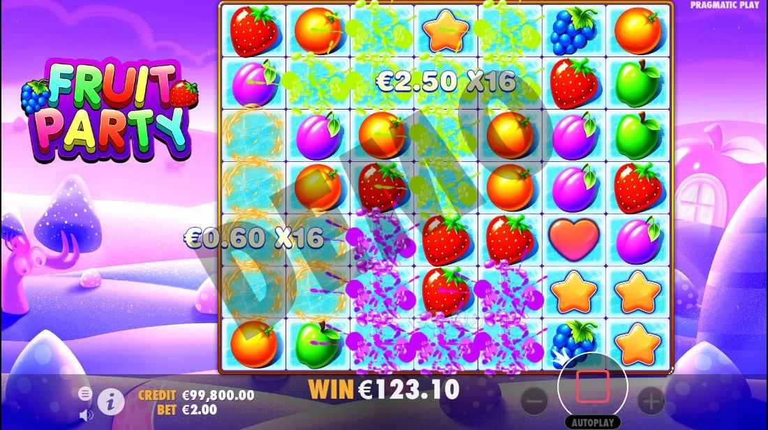Онлайн слот Fruit Party