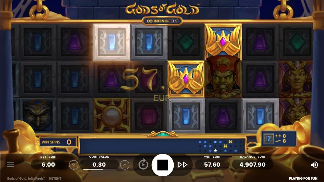 Игровой автомат Gods of Gold InfiniReels