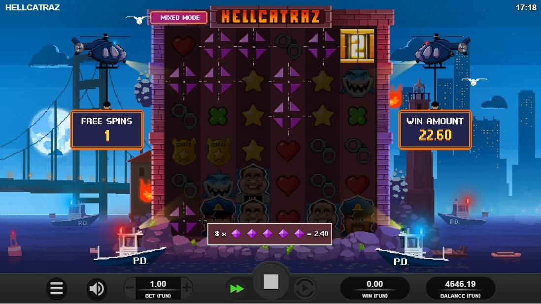 Игровой автомат Hellcatraz