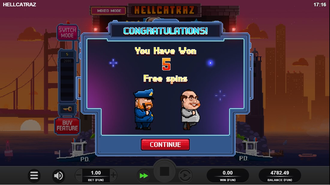 Онлайн слот Hellcatraz