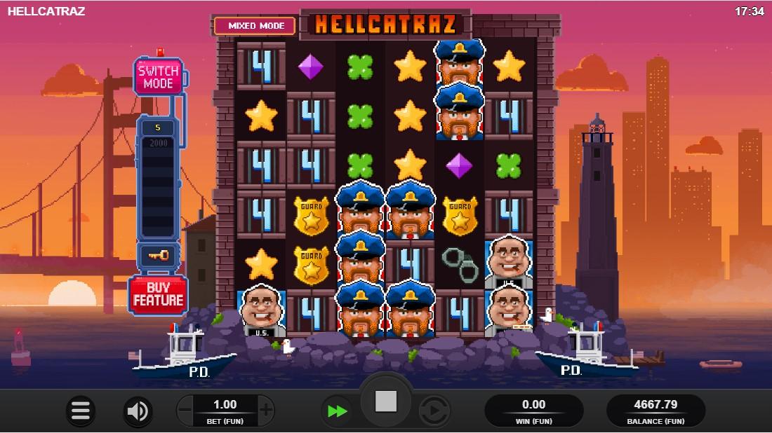 Бесплатный слот Hellcatraz