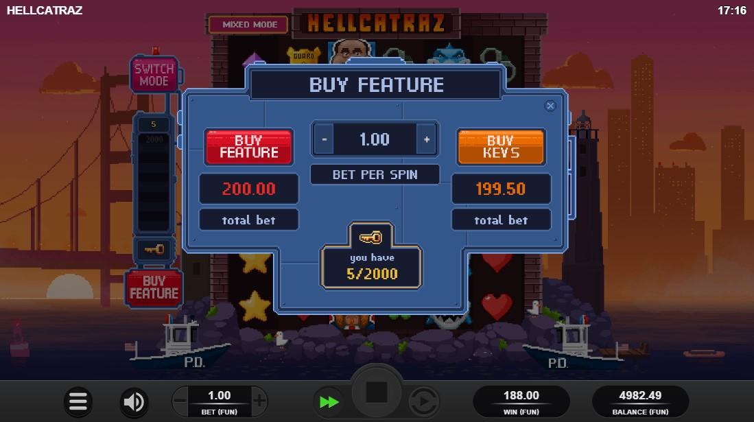 Слот Hellcatraz играть онлайн