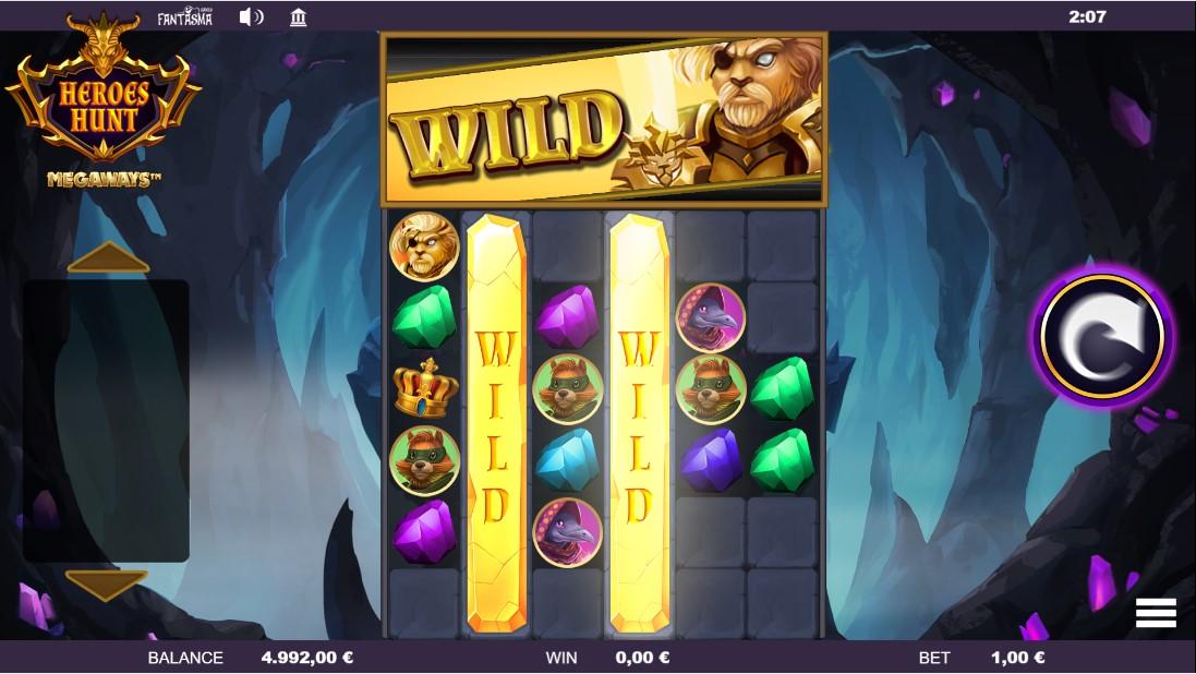 Игровой автомат Heroes Hunt