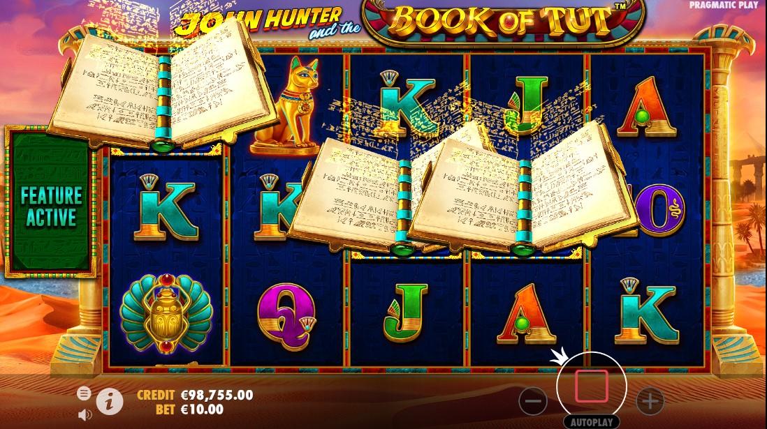 Слот John Hunter and the book of Tut играть онлайн