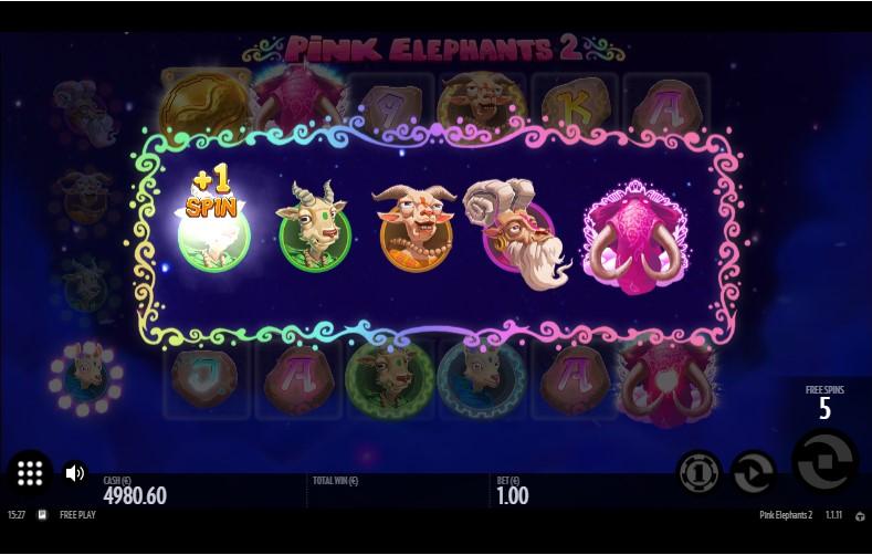 Игровой автомат Pink Elephants 2