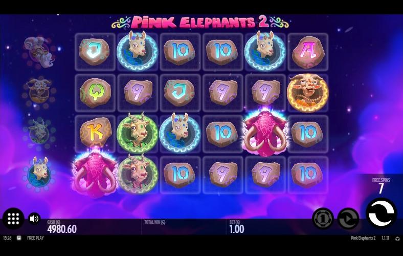 Онлайн слот Pink Elephants 2