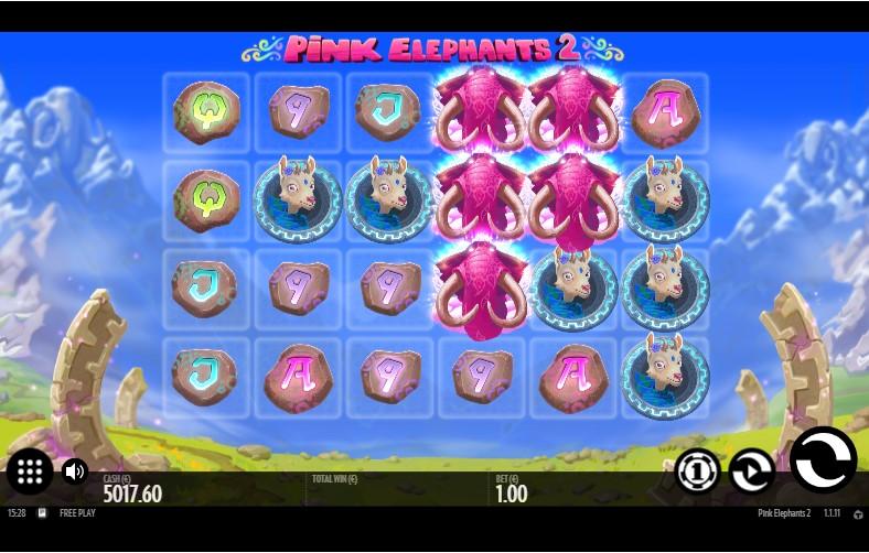 Слот Pink Elephants 2 играть бесплатно