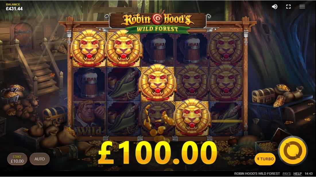 Игровой автомат Robin Hood's Wild Forest