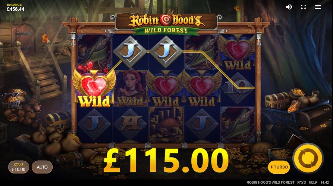 Онлайн слот Robin Hood's Wild Forest