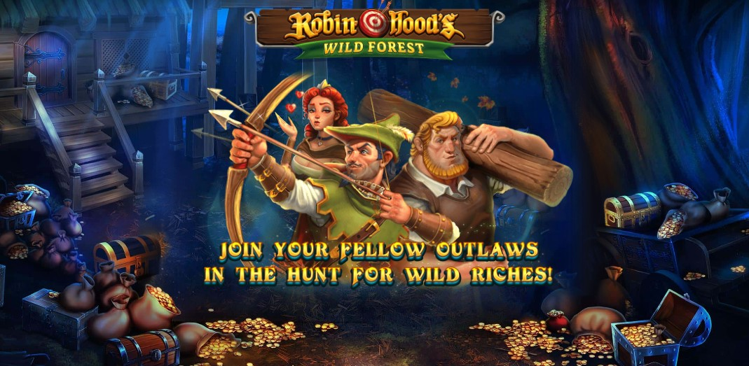 Играть Robin Hood's Wild Forest бесплатно