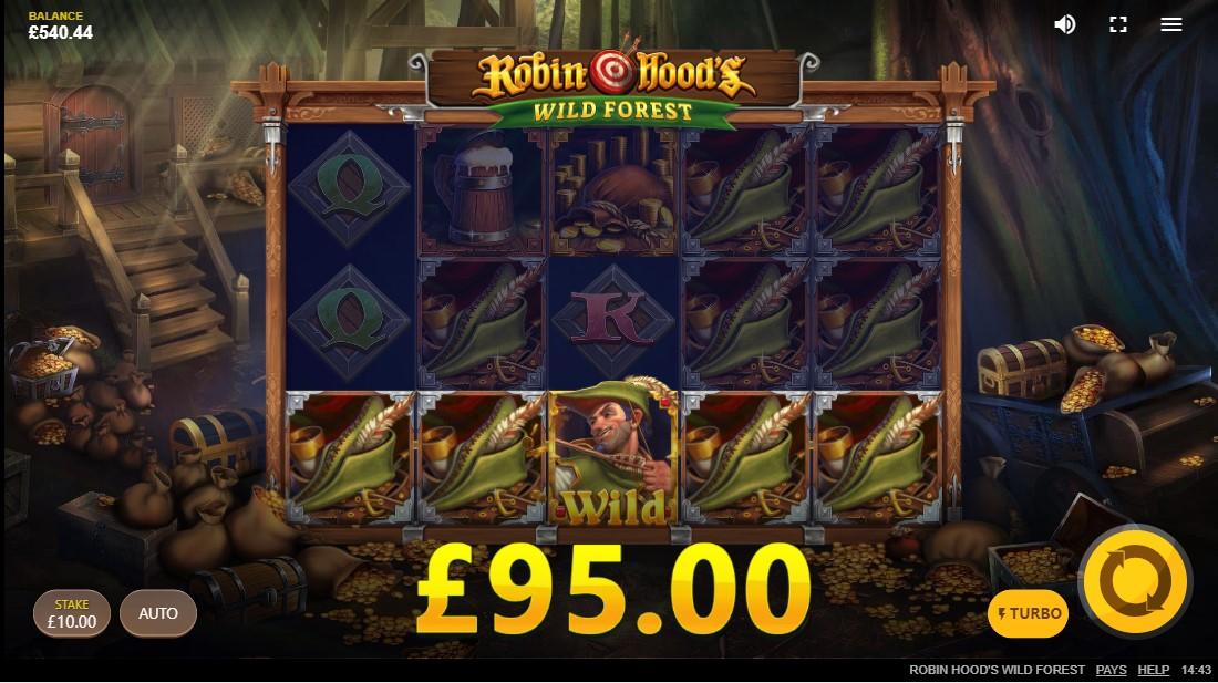 Robin Hood's Wild Forest бесплатный слот